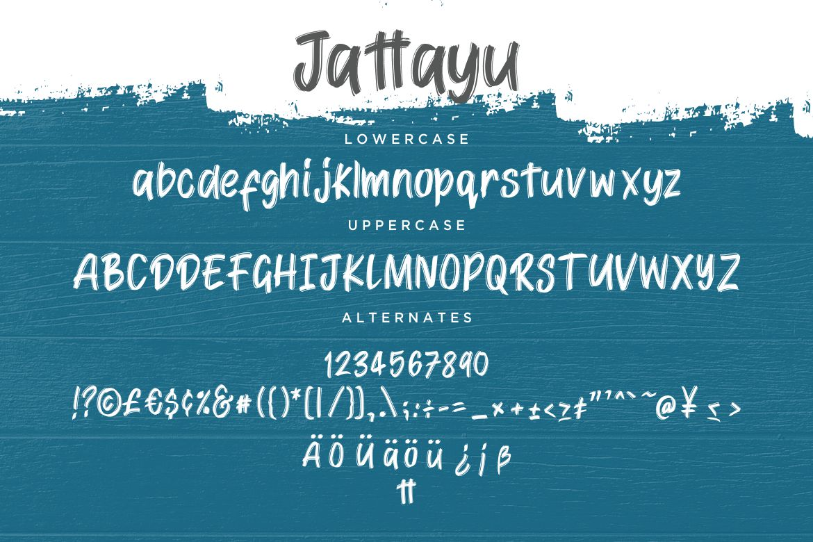Jattayu Sans Serif Brush example image 7