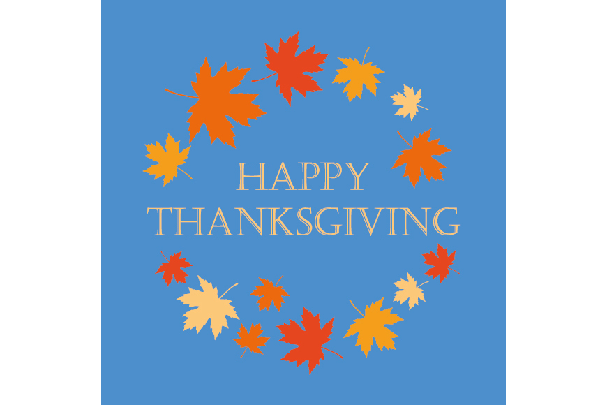 Set of 6 seamless vector backgrounds and 6 posters Thanksgiving Day. example image 5