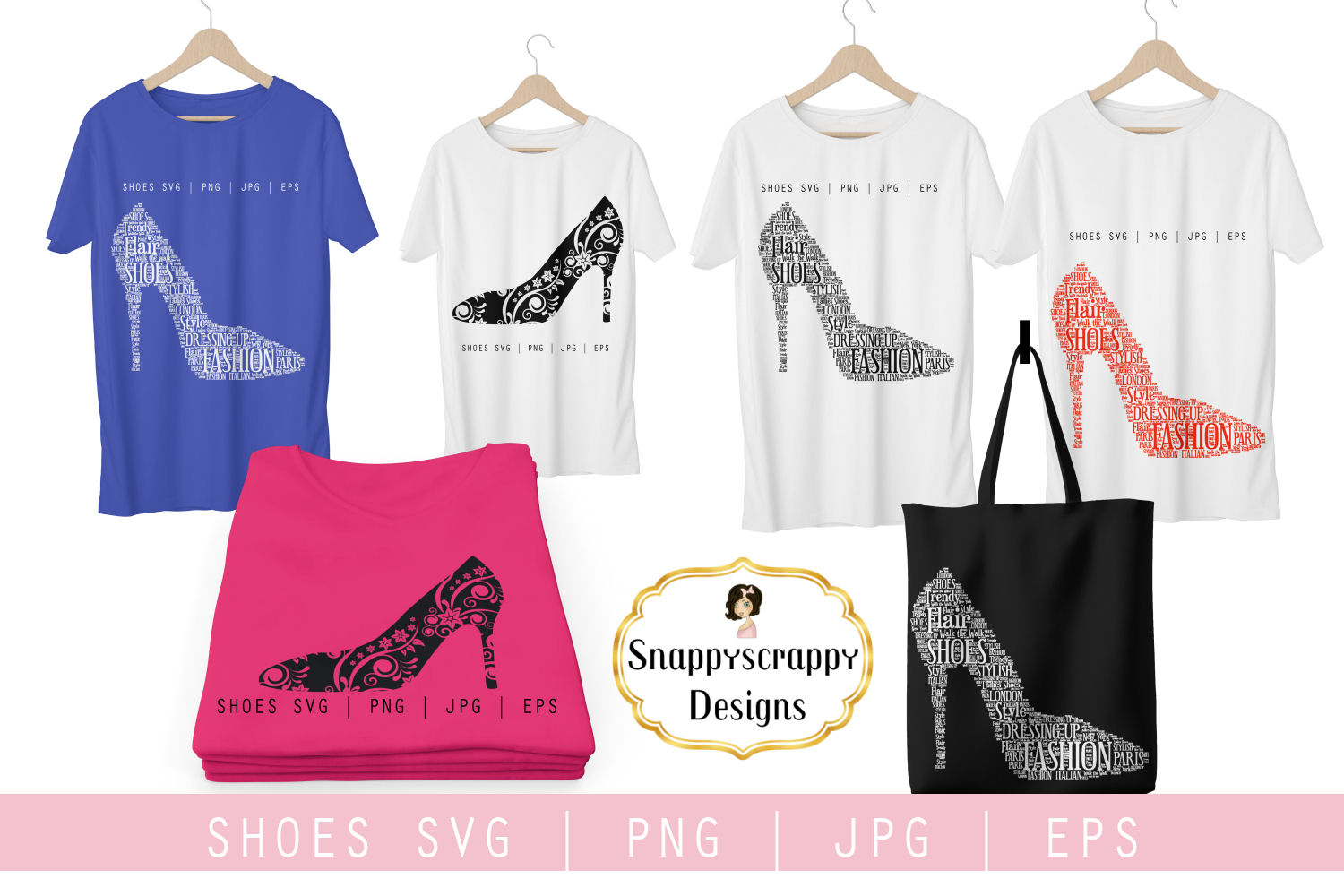 Fancy Shoes SVG example image 2