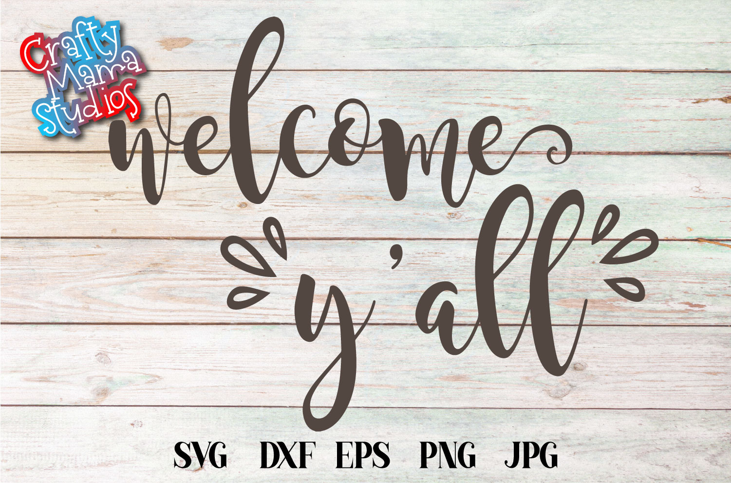 Welcome Yall SVG Sublimation, Welcome To Our Home example image 1