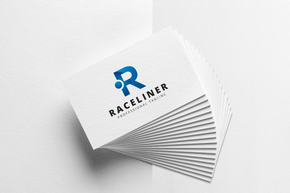 Raceliner R Lettre Logo example image 3