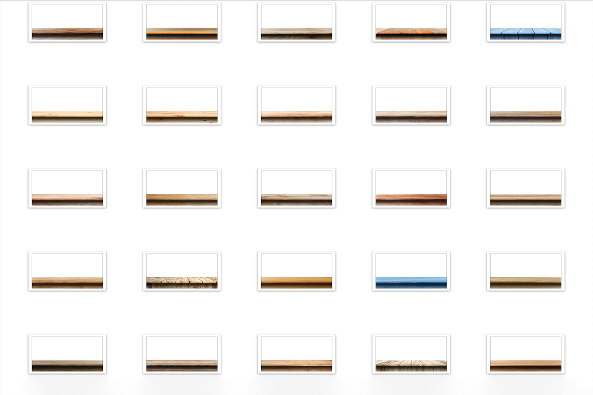 100 Realistic Table & Shelves  example image 4