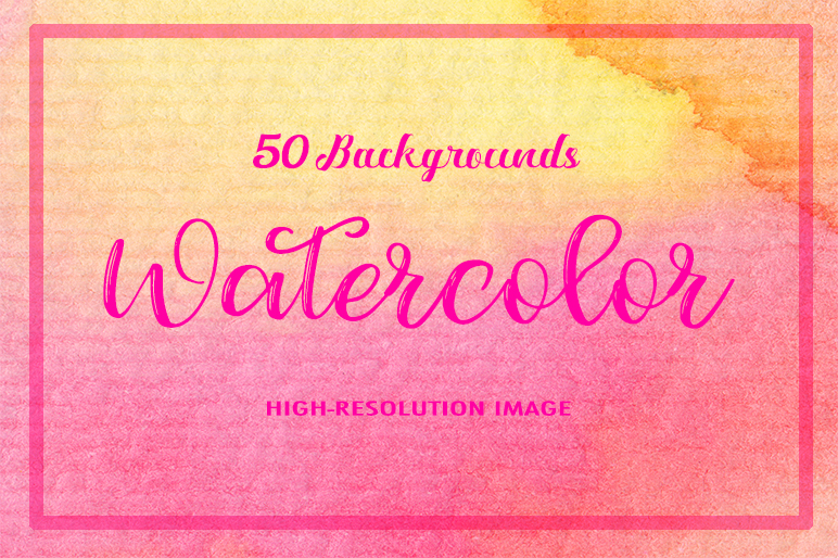 50 Watercolor Backgrounds example image 1