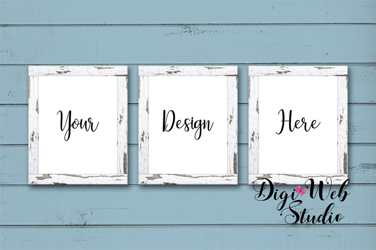 Mockup Bundle - Butterfly Cottage Wood Signs, Pillow & Mug example image 7