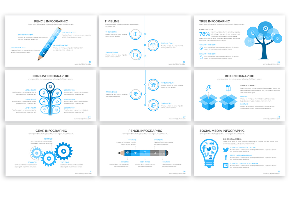 Clear Powerpoint Template example image 5