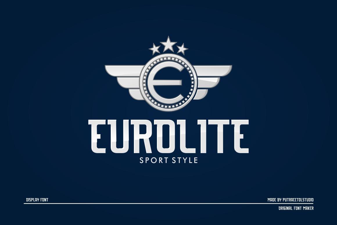 EUROLITE Sport Font Plus BONUS example image 1