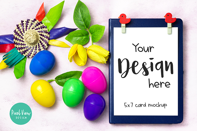5 x 7 Card Invites  Easter example image 1