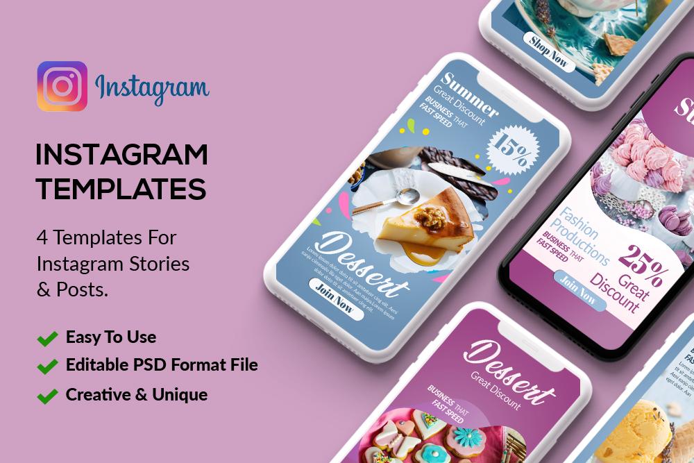 4 Bakery & Sweet Instagram Stories example image 1