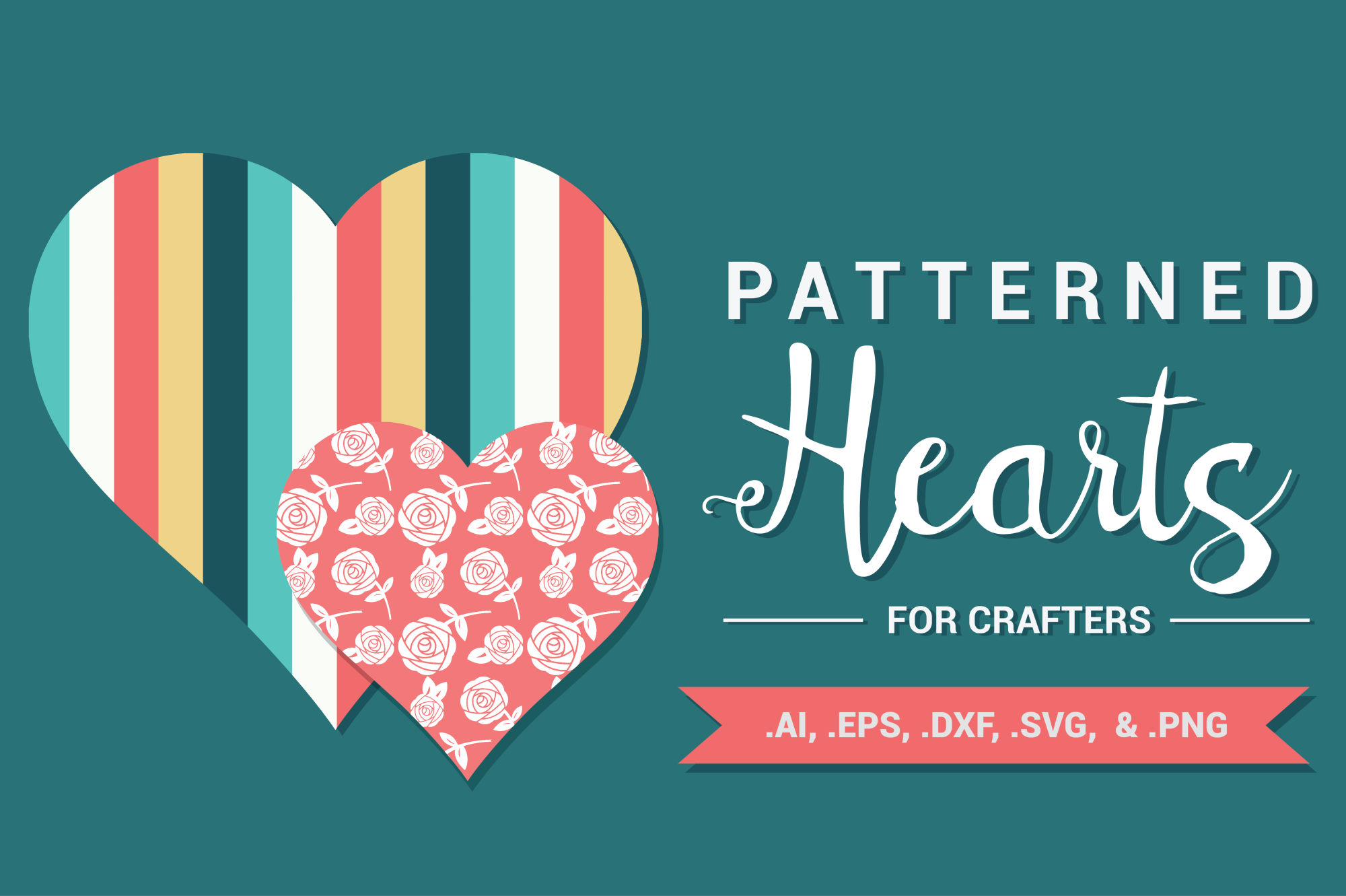 Patterned Hearts for Crafters example image 1