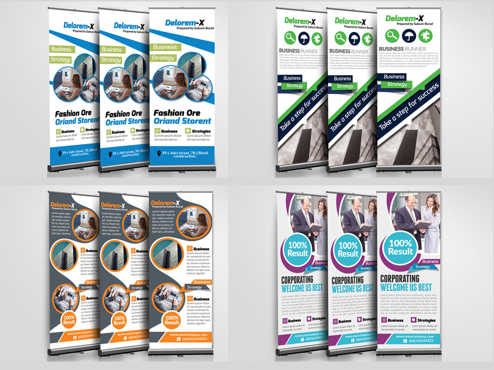 10 Multi Use Business Roll Up Banners Bundle example image 3