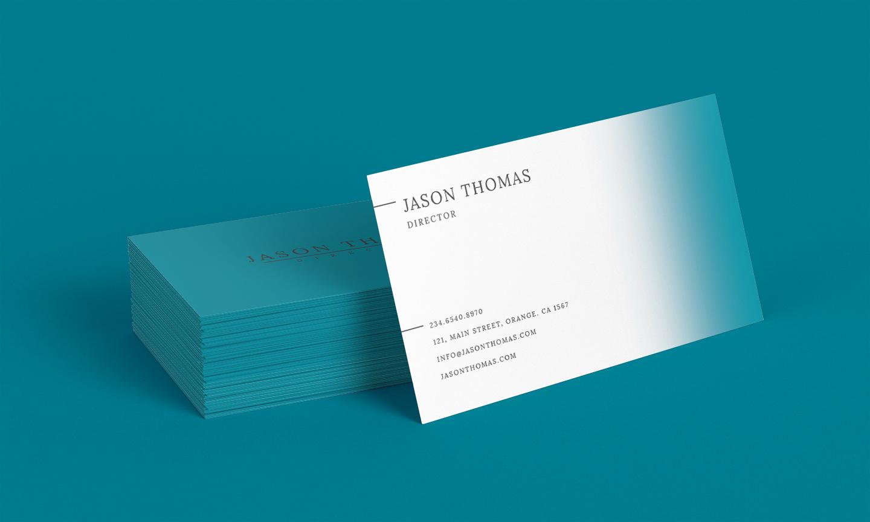 Bright Colour Beautiful Elegant Business Card 5 example image 2