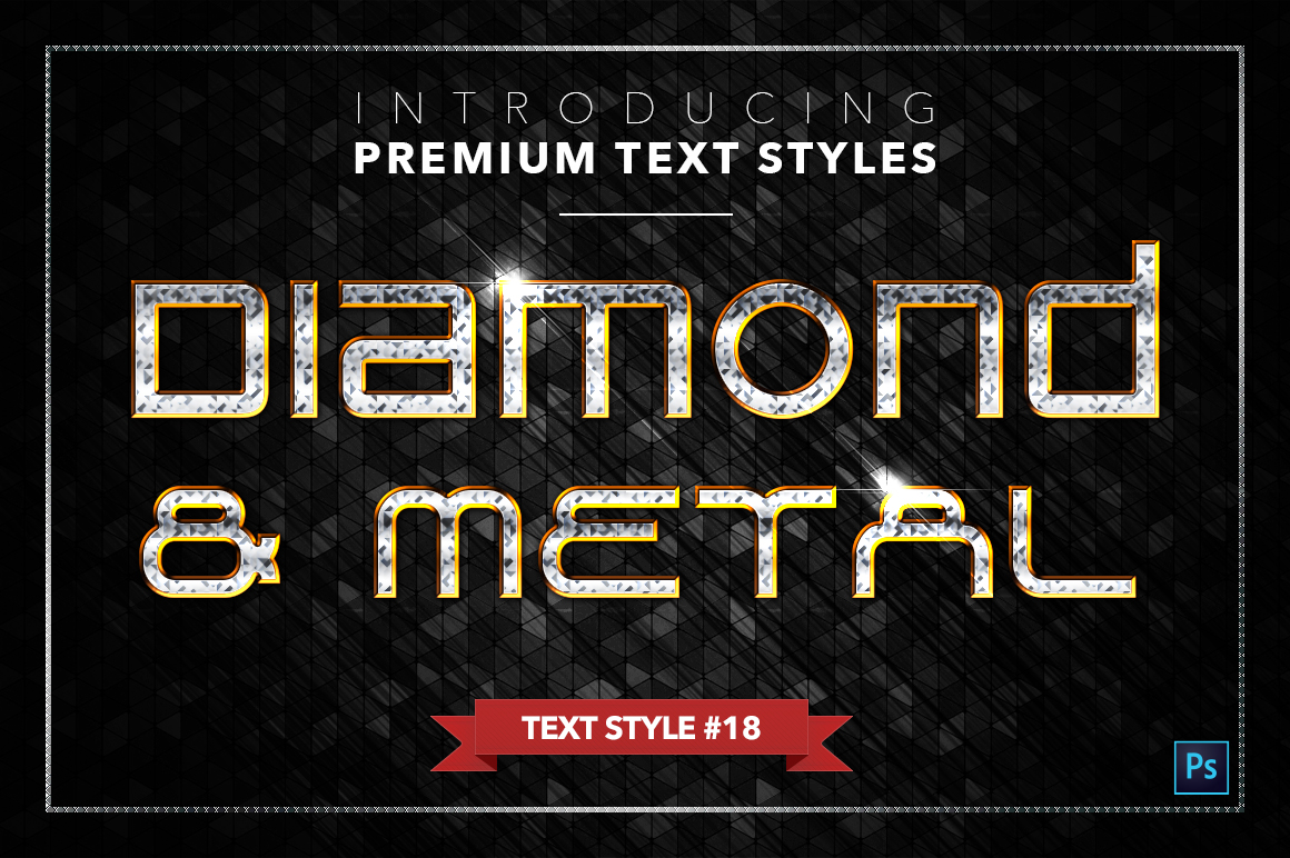 Diamond & Metal #3 - 18 Text Styles example image 19