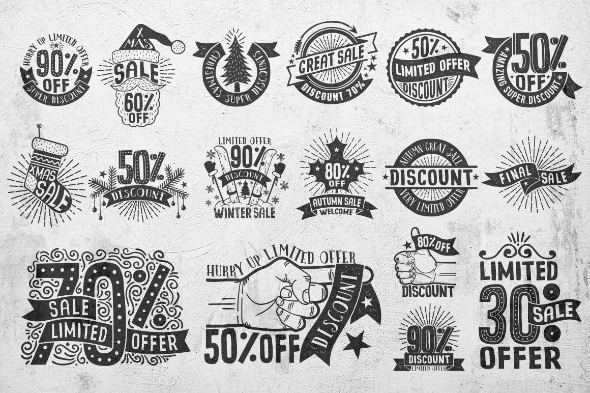 Sale Discount Set example image 7