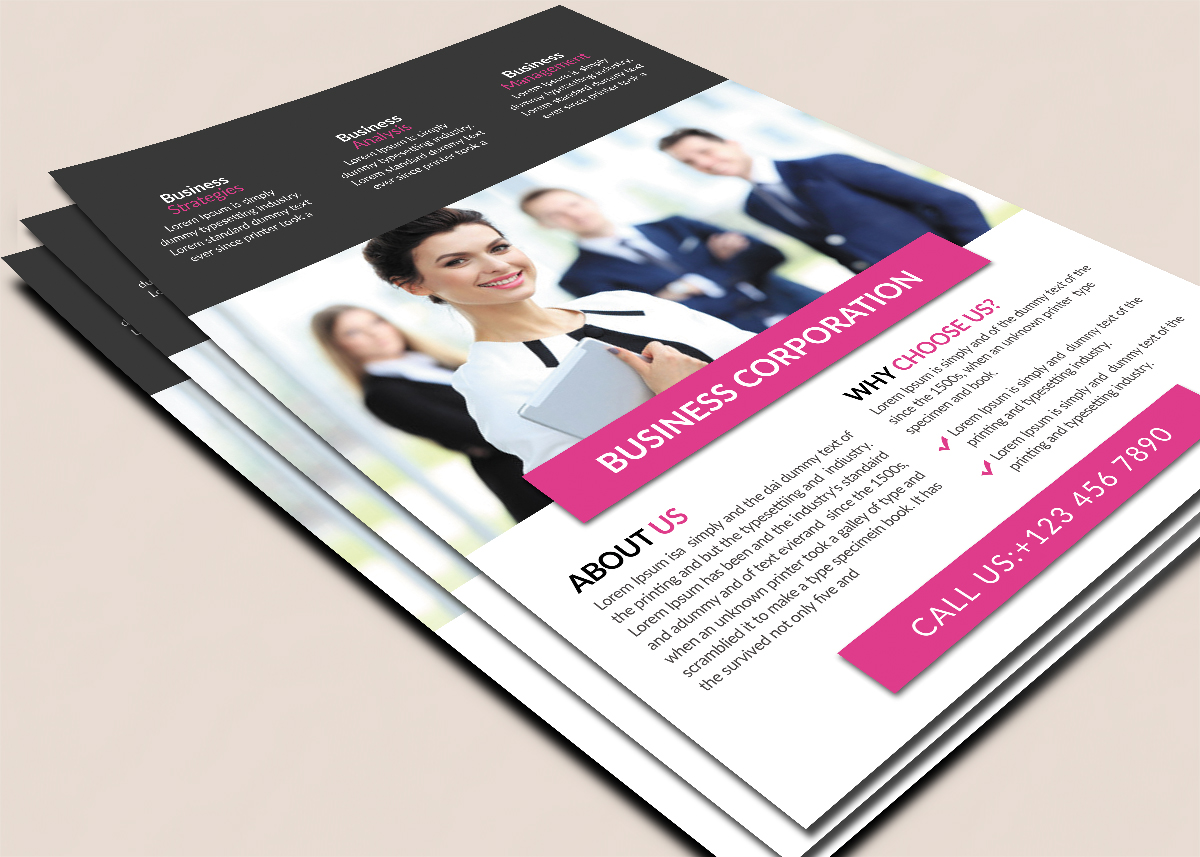 Business Company Flyer example image 2