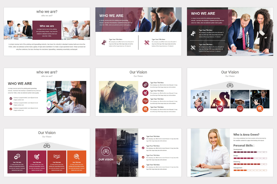 Varied multipurpose PowerPoint Presentation Template example image 5