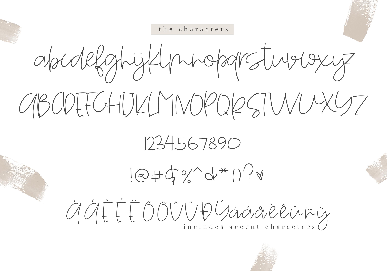 Sunshine - A Handwritten Script Font example image 8