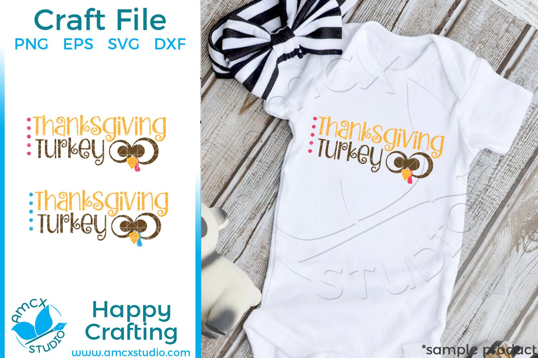 Thanksgiving Turkey SVG Files example image 1