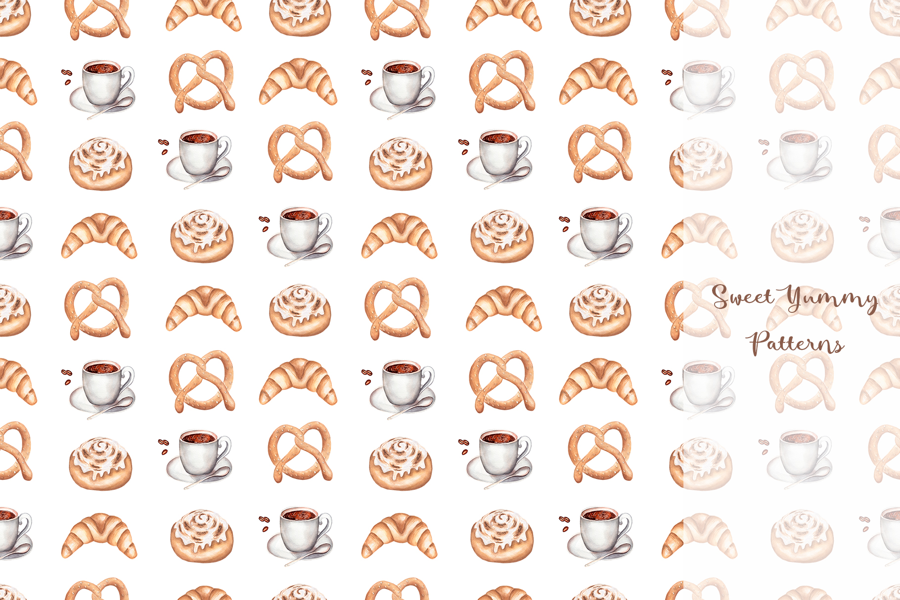 Sweet Yummy Patterns Collection example image 14