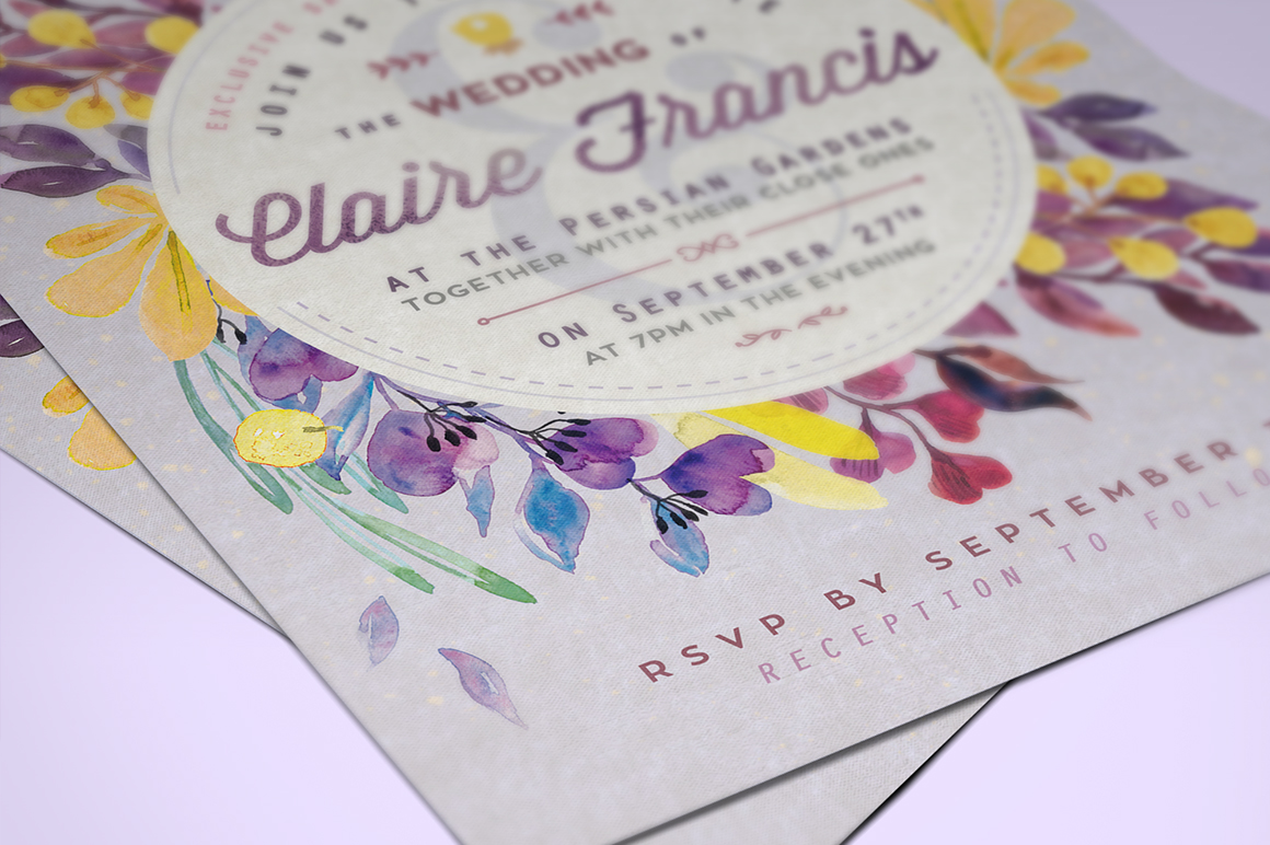 Ultra-Violet Lovely Foliage Card IV example image 2