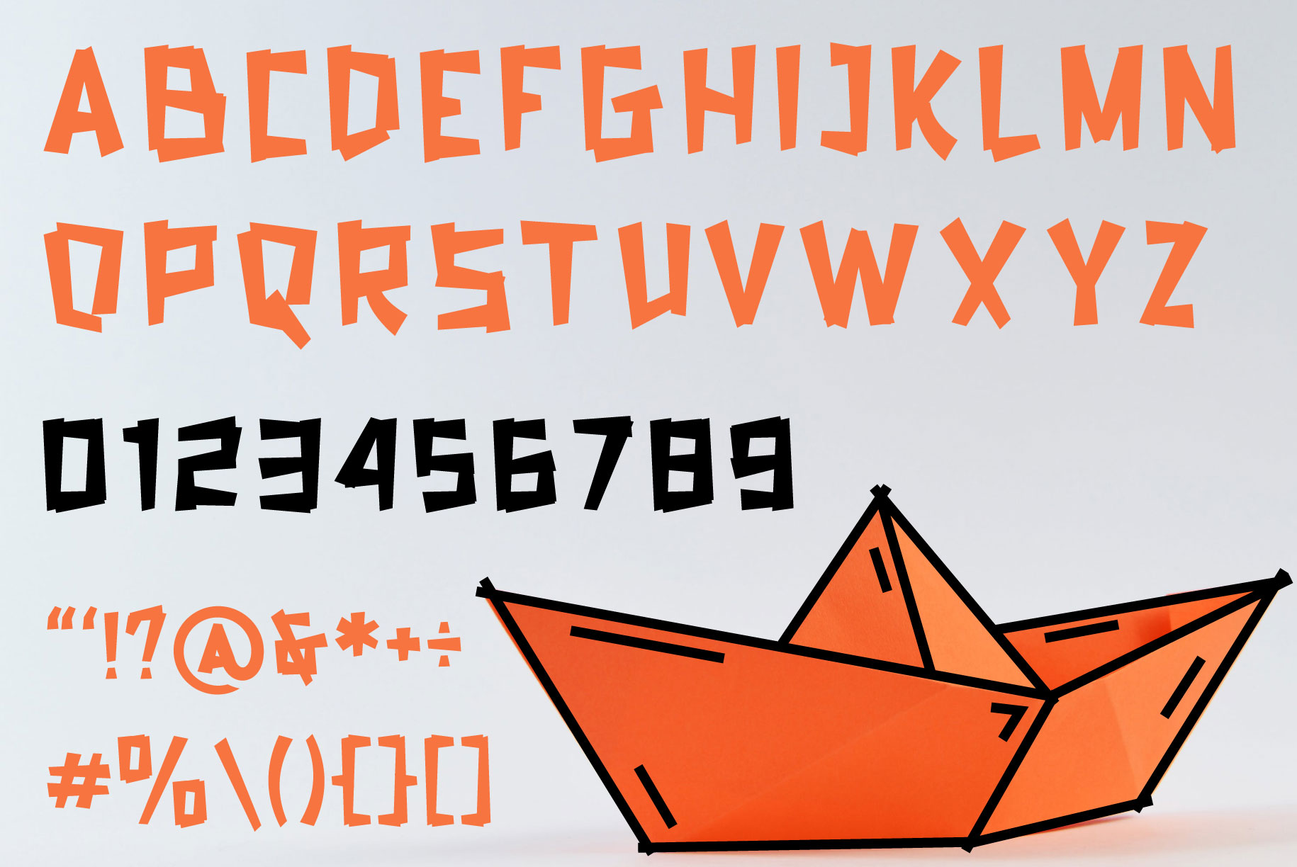 Natured - Modern and Fun Typeface example image 6