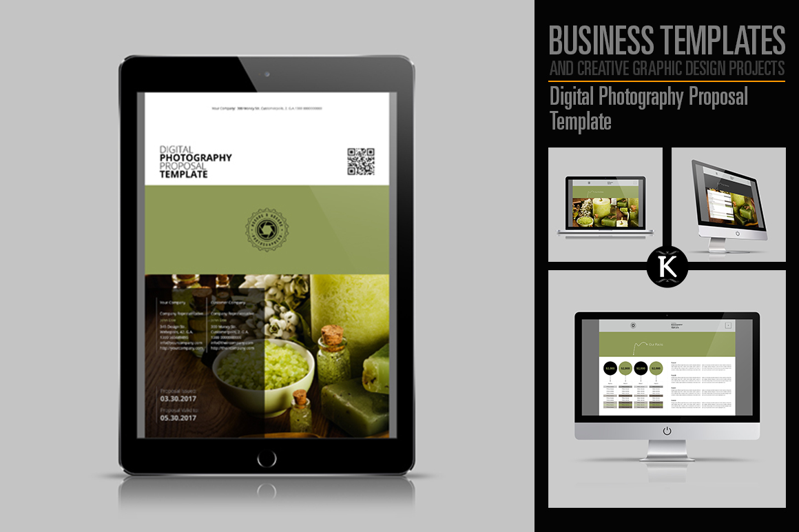 Digital Photography Proposal Template example image 1