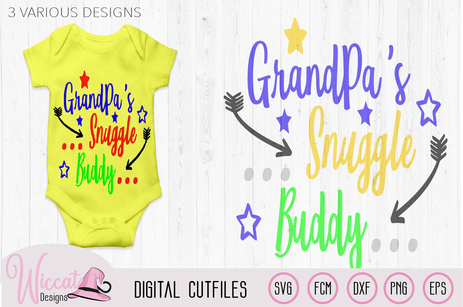 Daddy's snuggle buddy, Pops snuggle, Grandpa, Fathers day example image 3