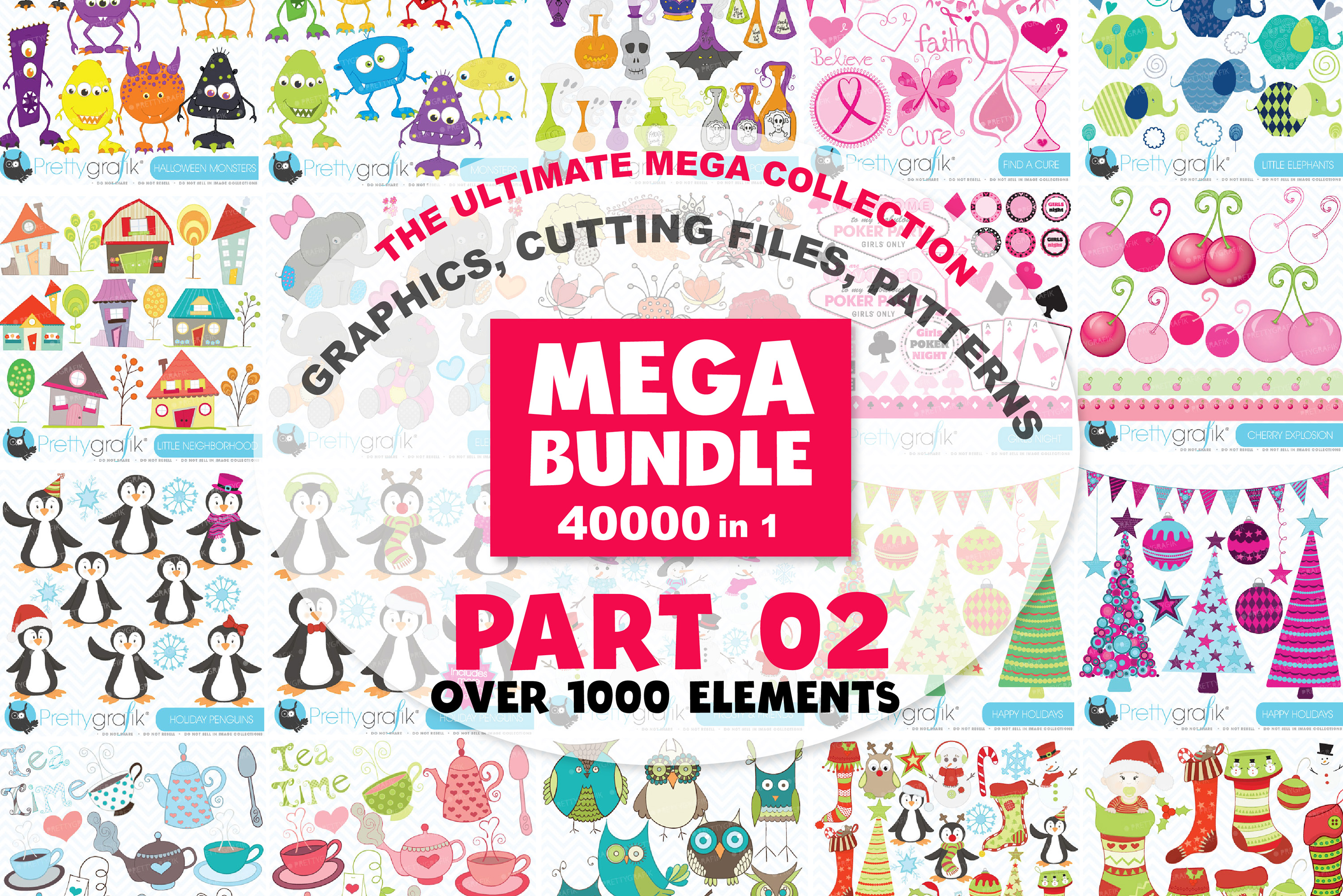 MEGA BUNDLE PART02 - 40000 in 1 Full Collection example image 1