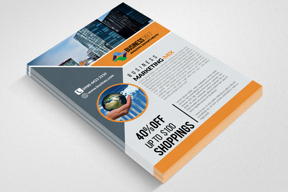 Business Consultants Flyer example image 3