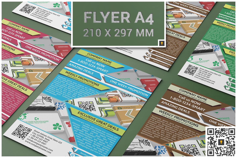 Flyer Bundle 50% SAVINGS example image 3