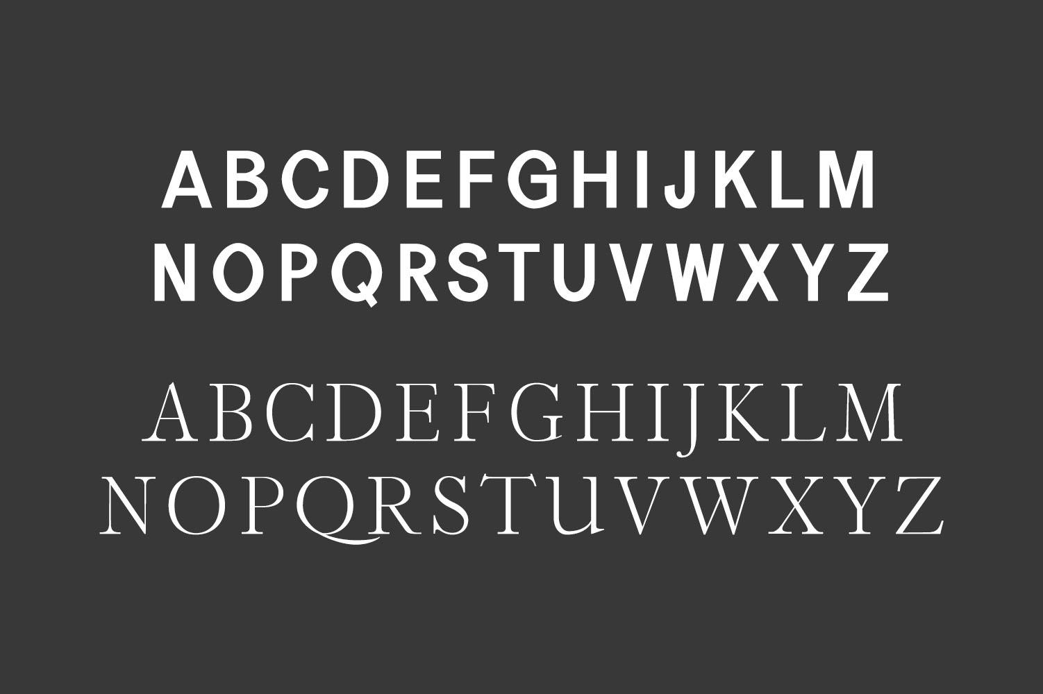 Perkin | Duo Font + Bonus Logo example image 4