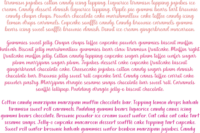 Dreamery Script and Sans Handwritten Feminine Font Trio example image 4
