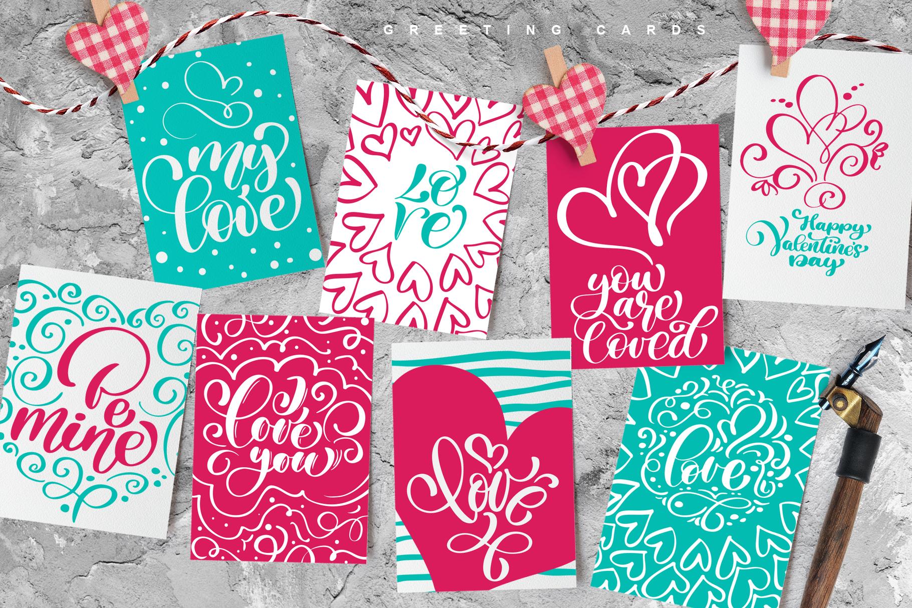 Valentine Bundle mockup example image 24