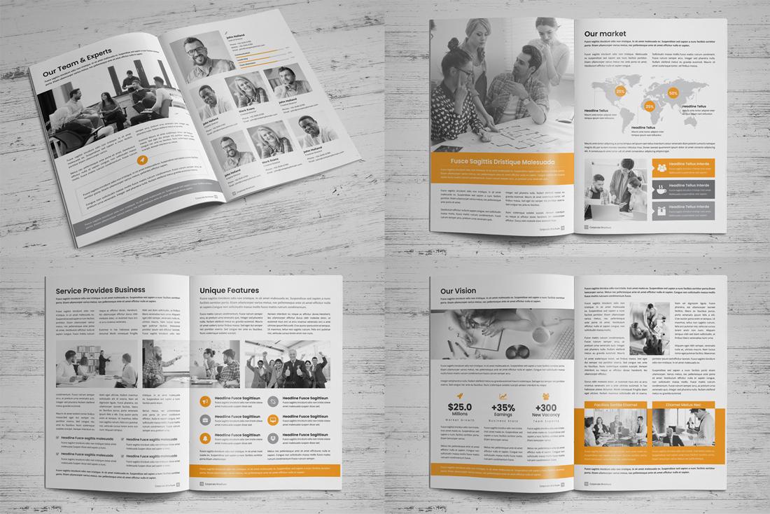 Company Profile Bundle example image 19