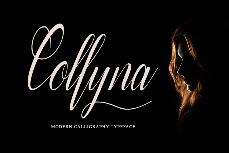 Coollyna Script |Modern Calligraphy Typeface example image 1