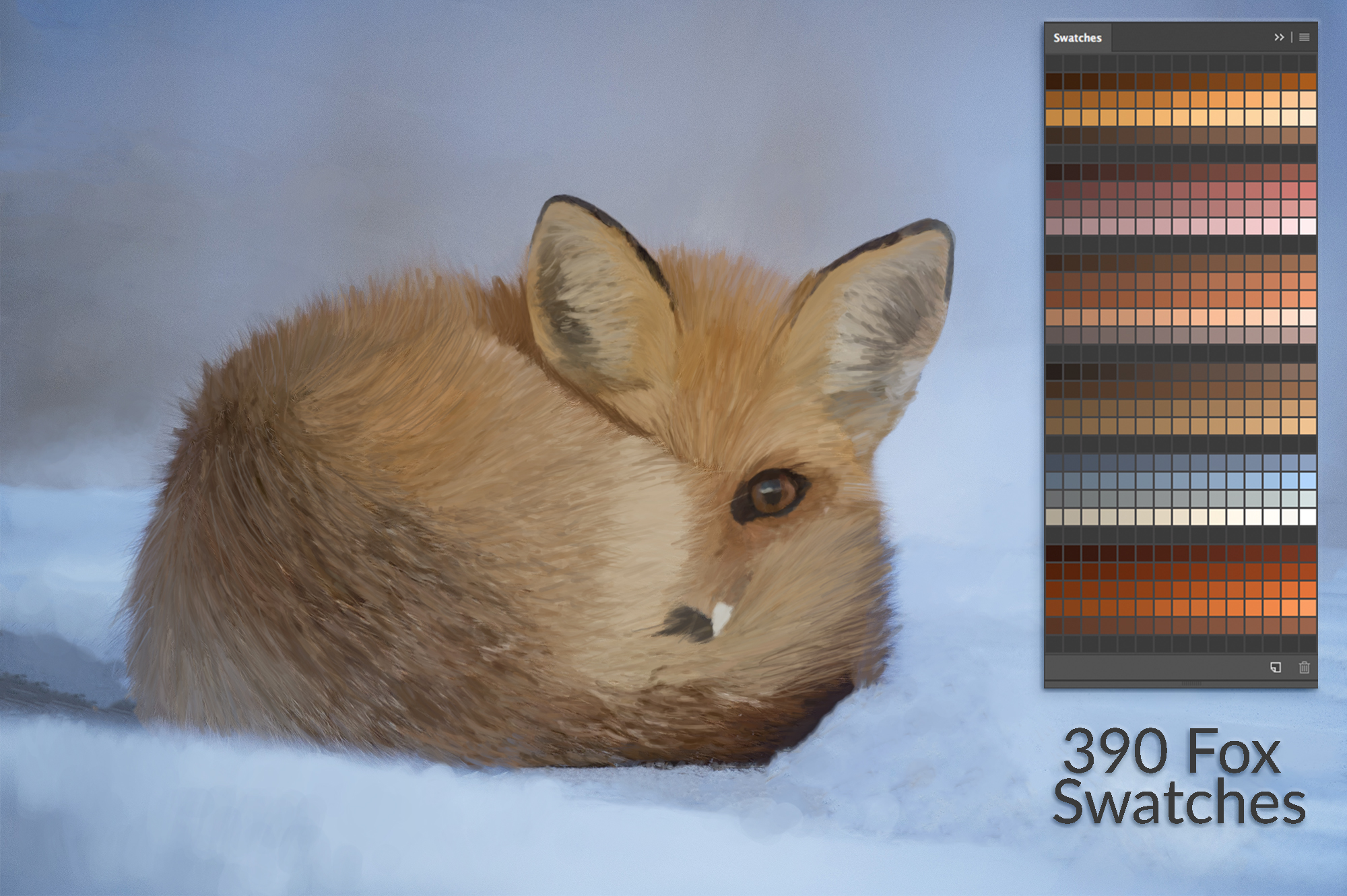 Fox Swatches example image 1