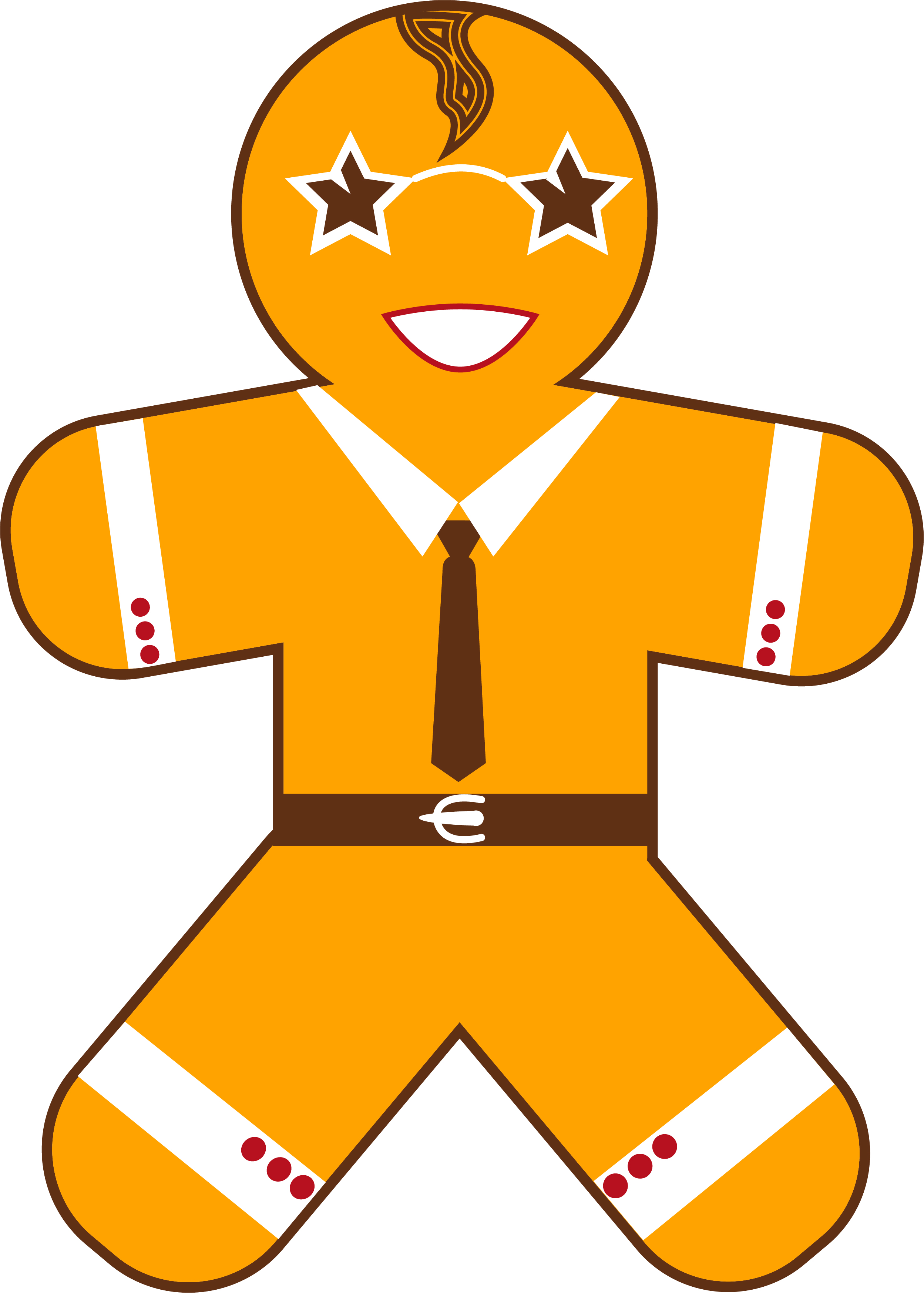 New Year Gingerbread Man example image 3