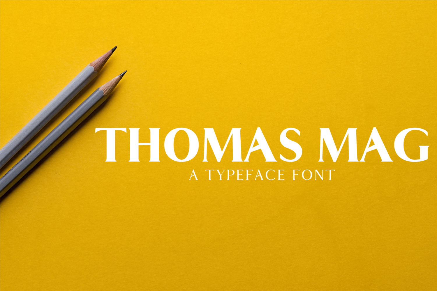 Thomas Mag Serif 9 Fonts Family Pack example image 1