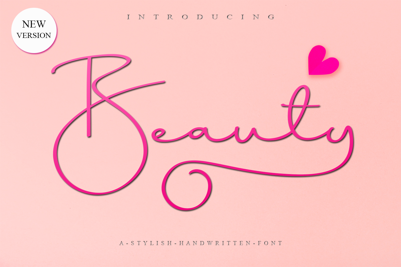 Beauty Script example image 1