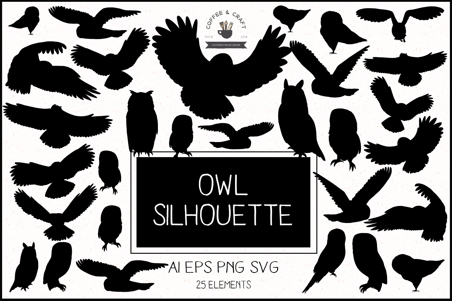 Owl Silhouette example image 1