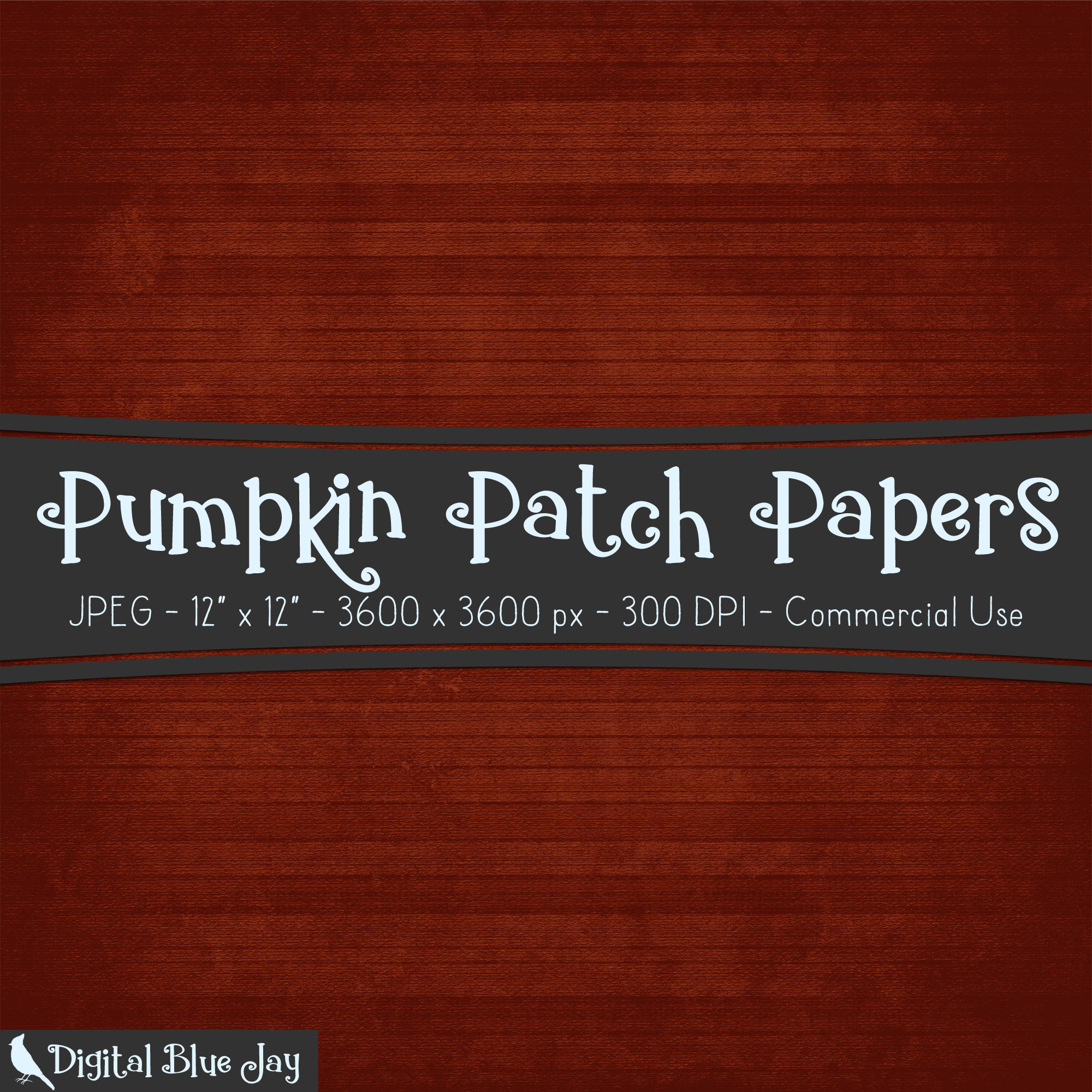 Digital Paper Textured Backgrounds - Pumpkin Patch example image 2