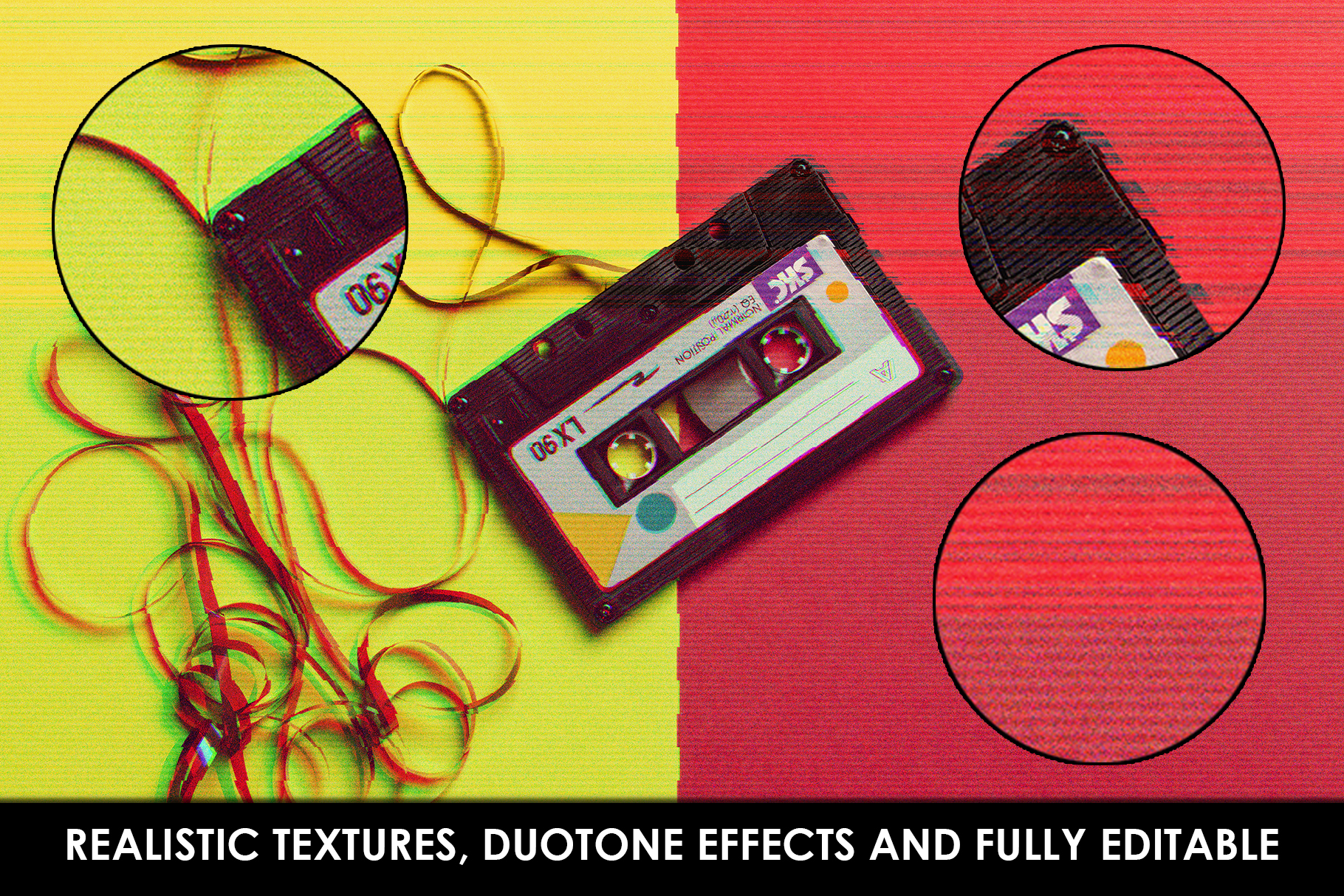 Glitch Effect Photoshop Actions example image 8