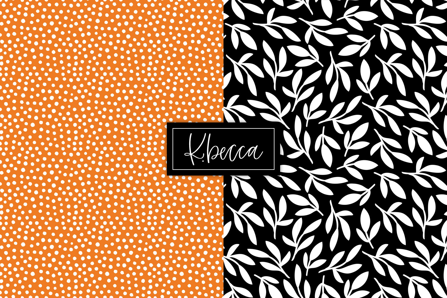 Spooky Halloween Background Patterns Seamless example image 4