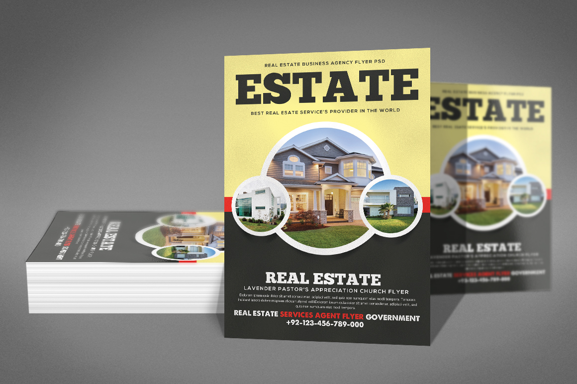 Home Real Estate Flyer example image 2