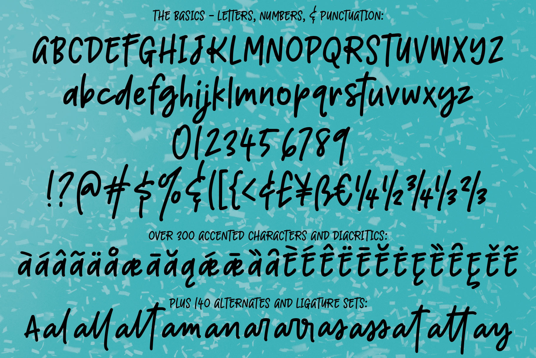 Boisterous - A casual handwriting font! example image 2