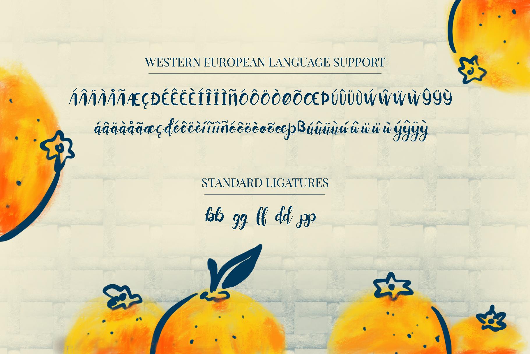 Orange You Glad? Font example image 5