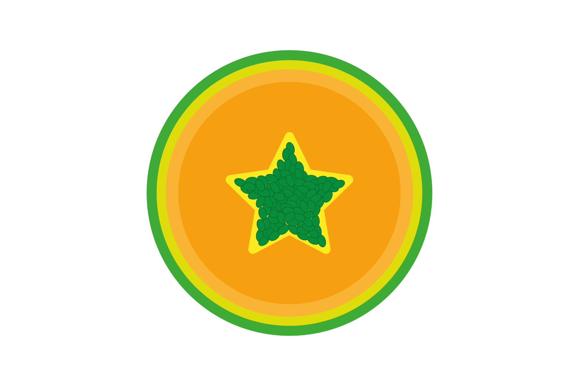 Collection of vector fruit icons example image 12