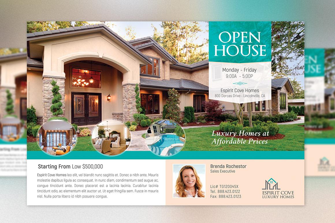 Real Estate EDDM Postcard Template example image 5
