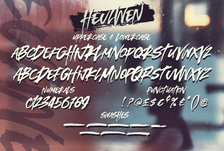 Heulwen Typeface example image 8