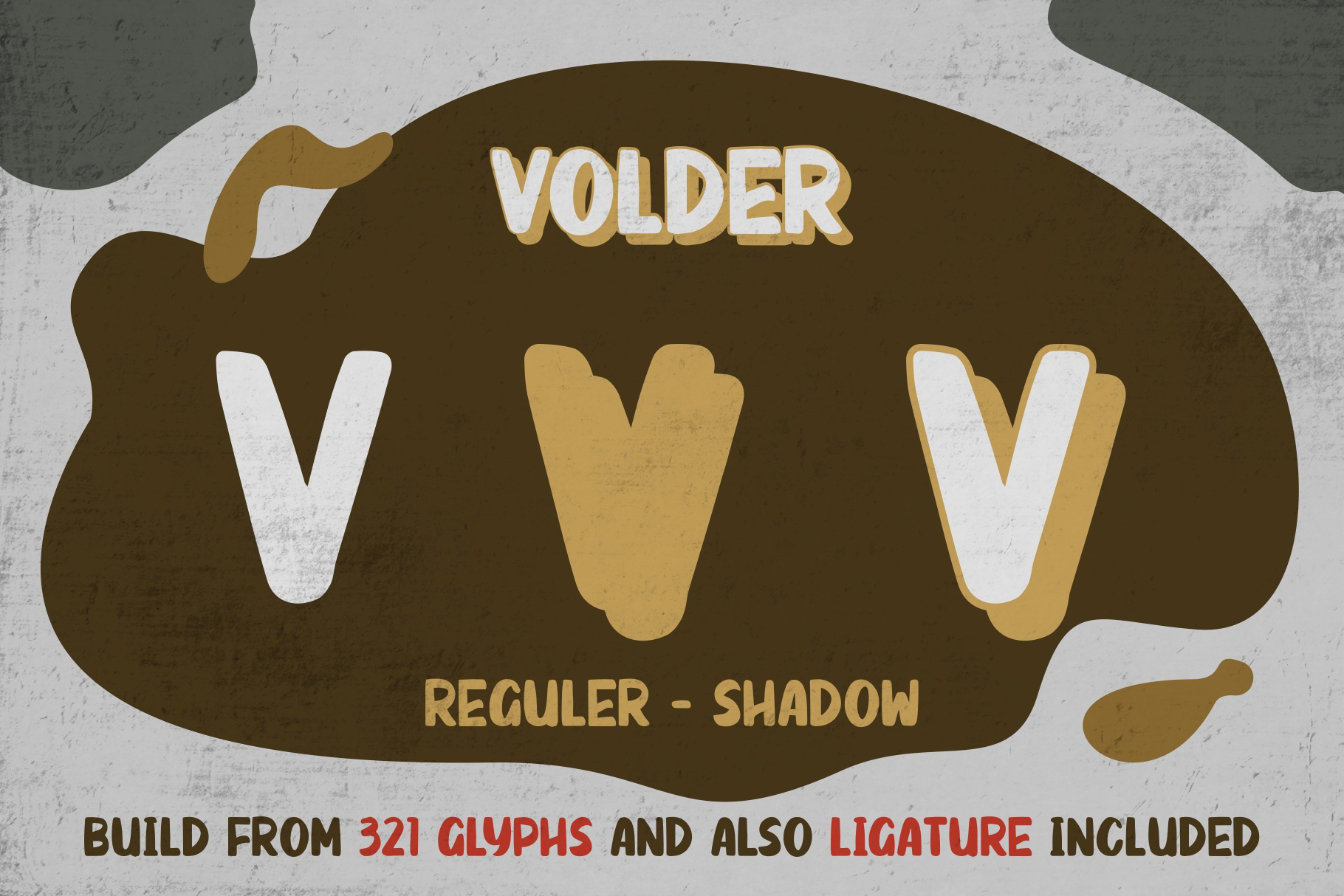 VOLDER Bold Fonts example image 5