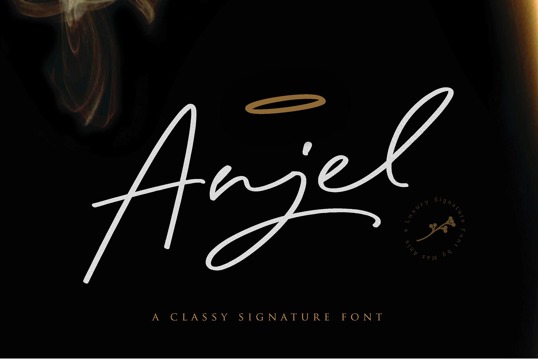 Anjel // Classy Signature example image 16